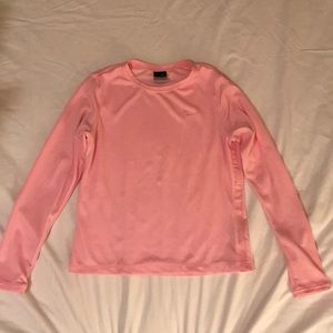 Pink long sleeve Nike shirt
